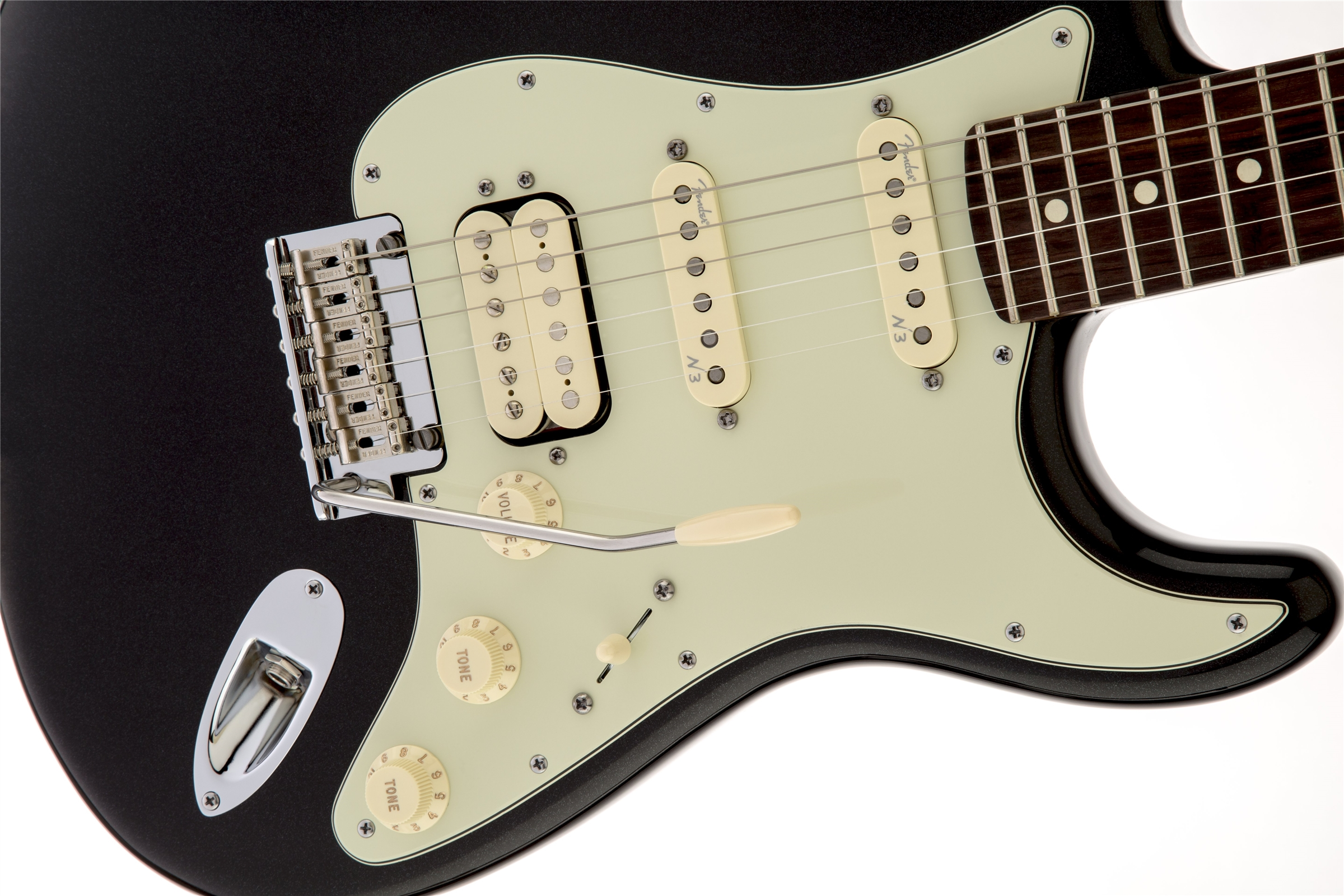 fender american deluxe stratocaster plus hss electric guitar ebay. Black Bedroom Furniture Sets. Home Design Ideas