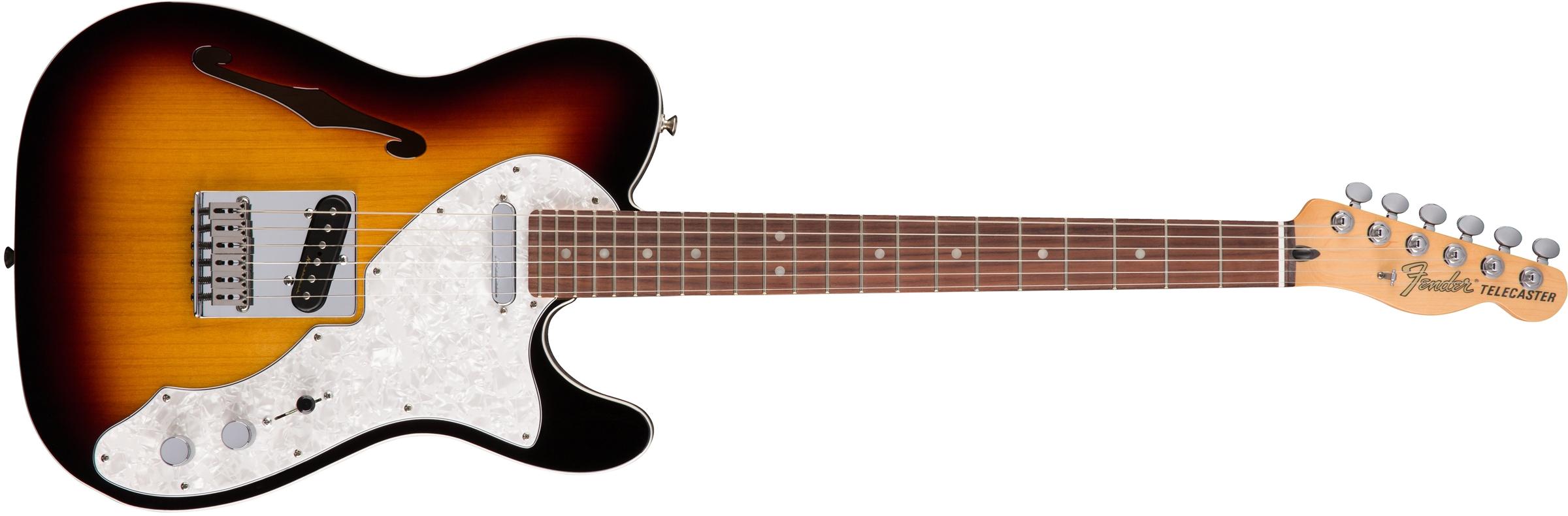 Fender Deluxe Telecaster 174 Thinline Rosewood Fingerboard