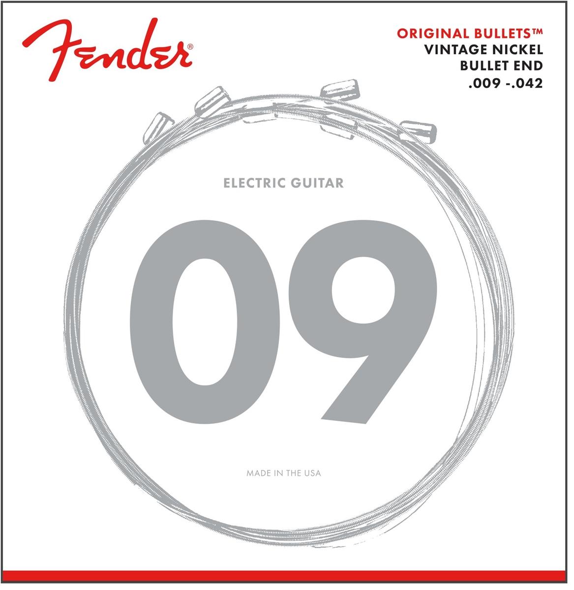 fender original bullet 3150l pure nickel gauges 009 042. Black Bedroom Furniture Sets. Home Design Ideas