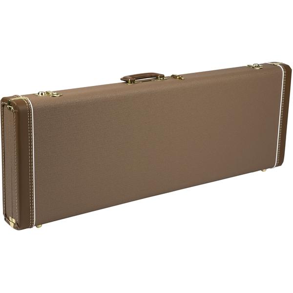 fender g g strat tele hardshell electric guitar case brown orange 1 broken latch ebay. Black Bedroom Furniture Sets. Home Design Ideas