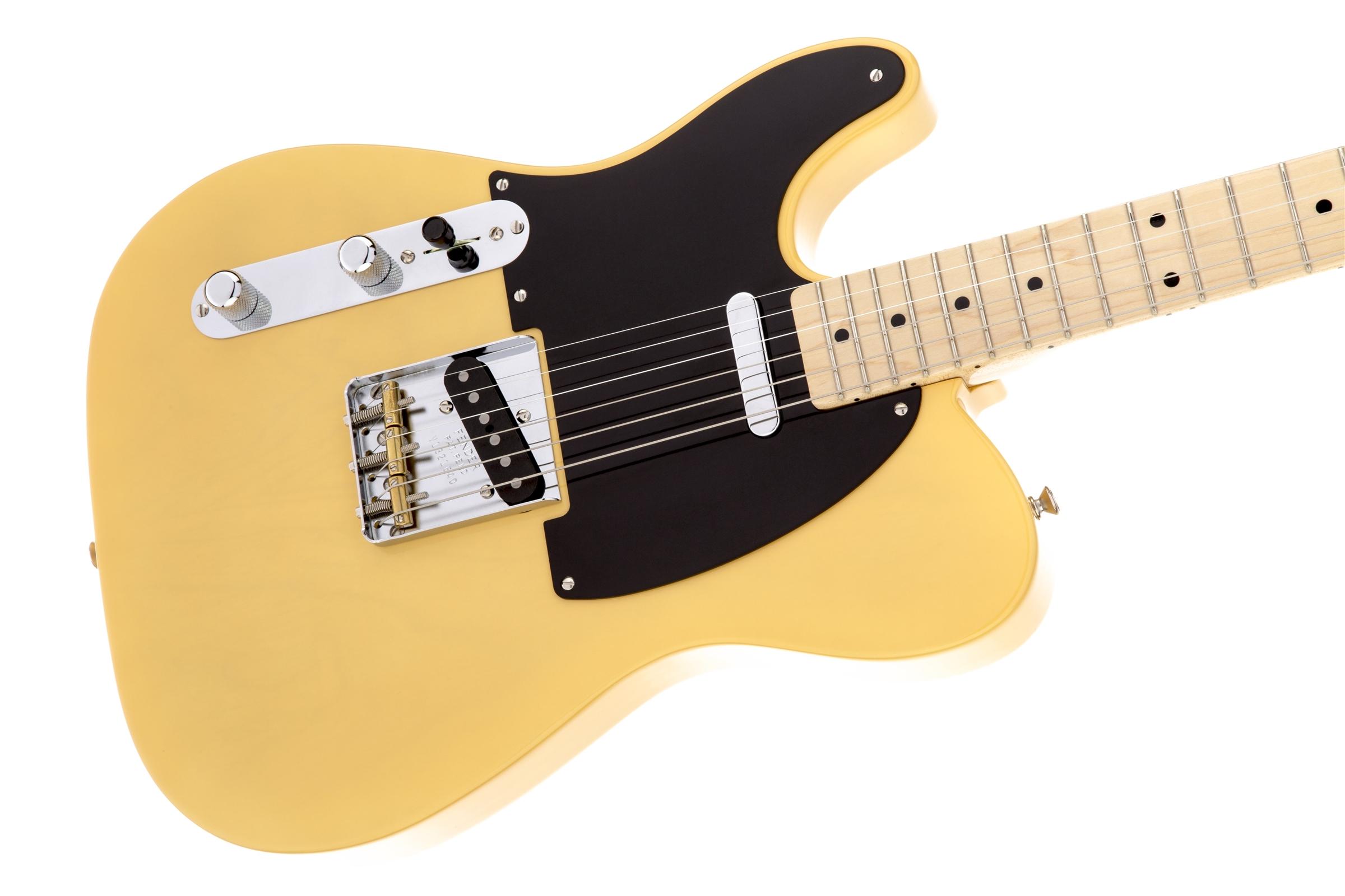 american vintage 39 52 telecaster left hand fender electric guitars. Black Bedroom Furniture Sets. Home Design Ideas