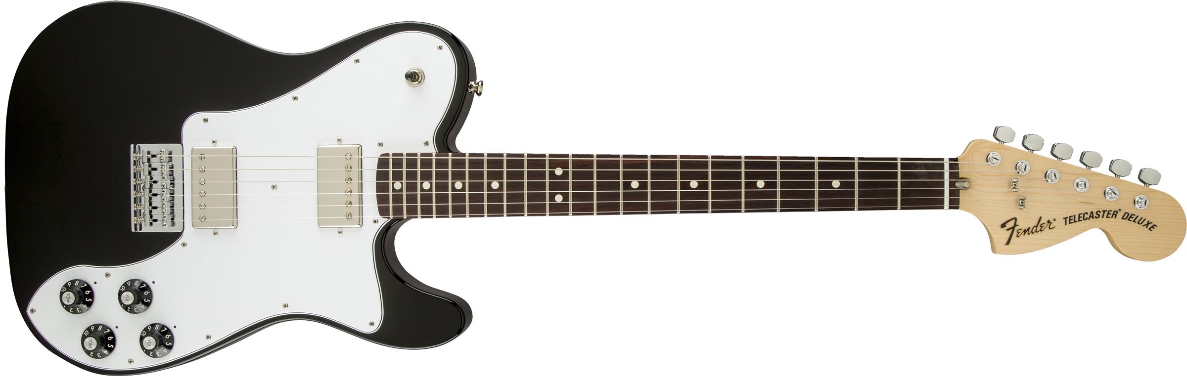 Fender Telecaster Deluxe Black 72