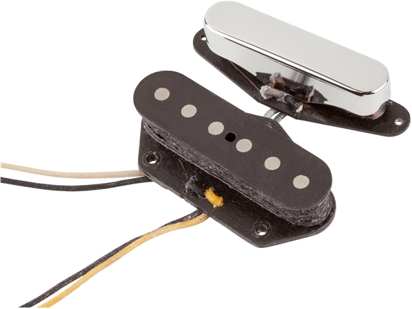 fender custom shop nocaster tele pickups set of fender fender custom shop 51 nocaster teleacircreg pickups nickel