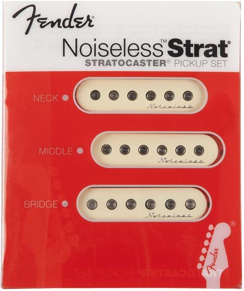 Fender Vintage Noiseless U2122 Strat Pickups  Set Of 3  Aged