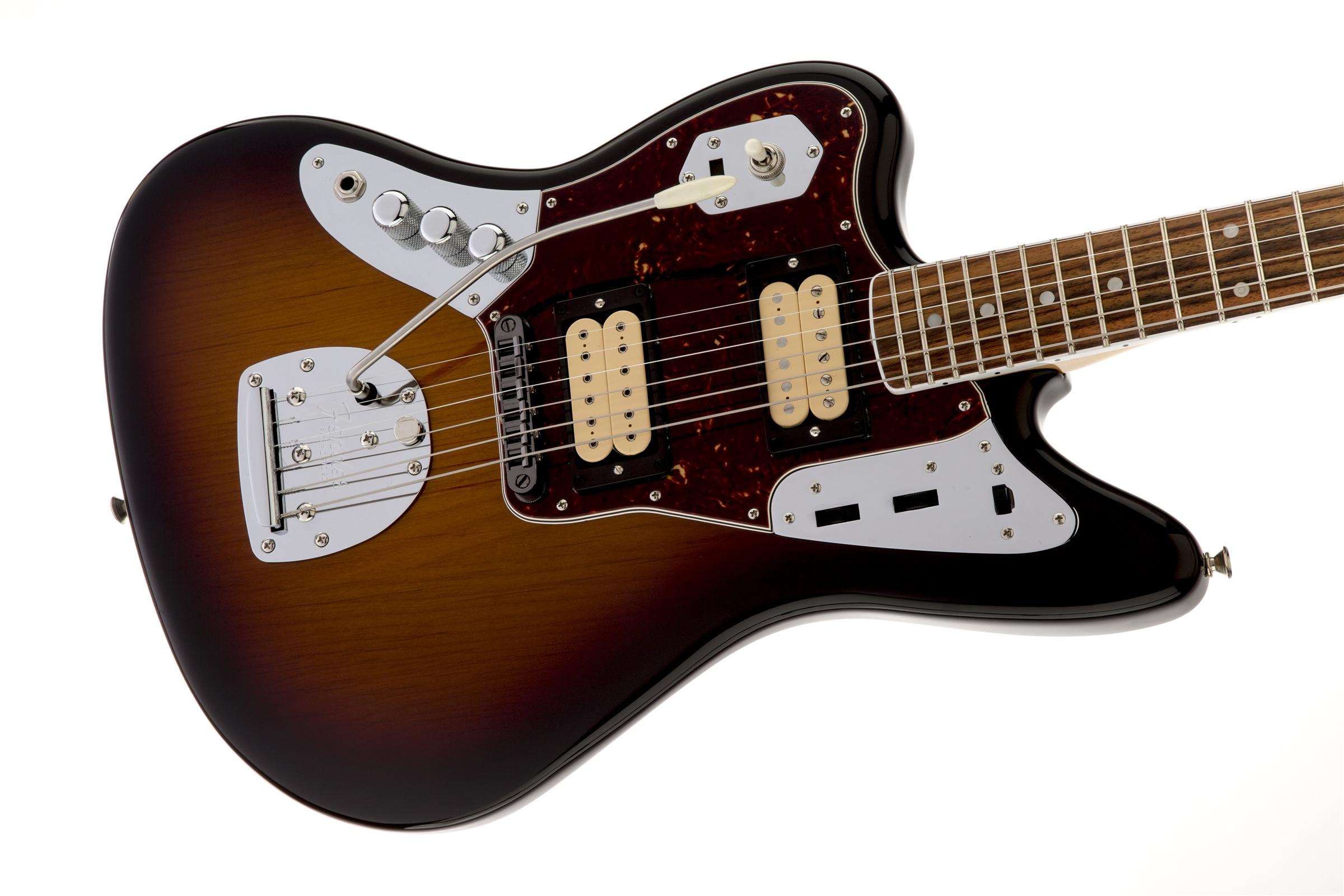 kurt cobain jaguar left hand fender electric guitars. Black Bedroom Furniture Sets. Home Design Ideas