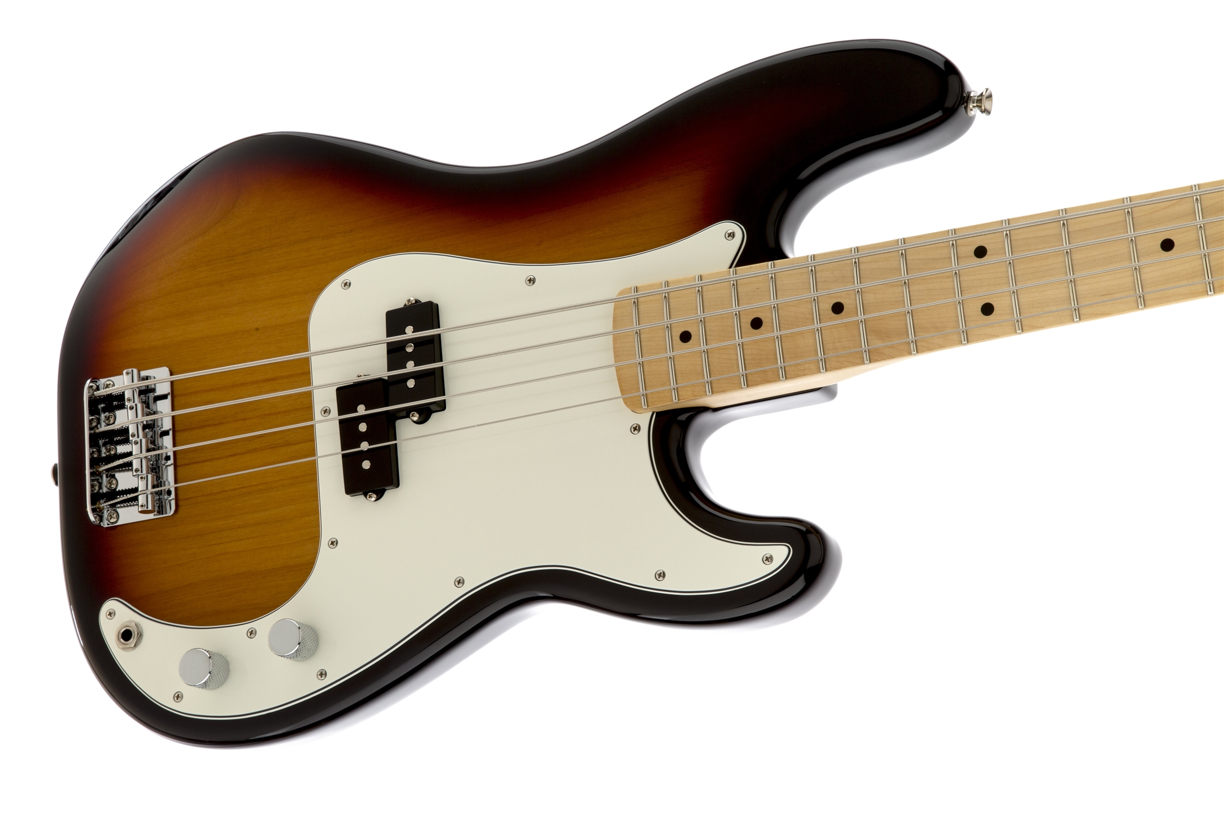 fender standard precision bass u00ae  maple fingerboard  brown