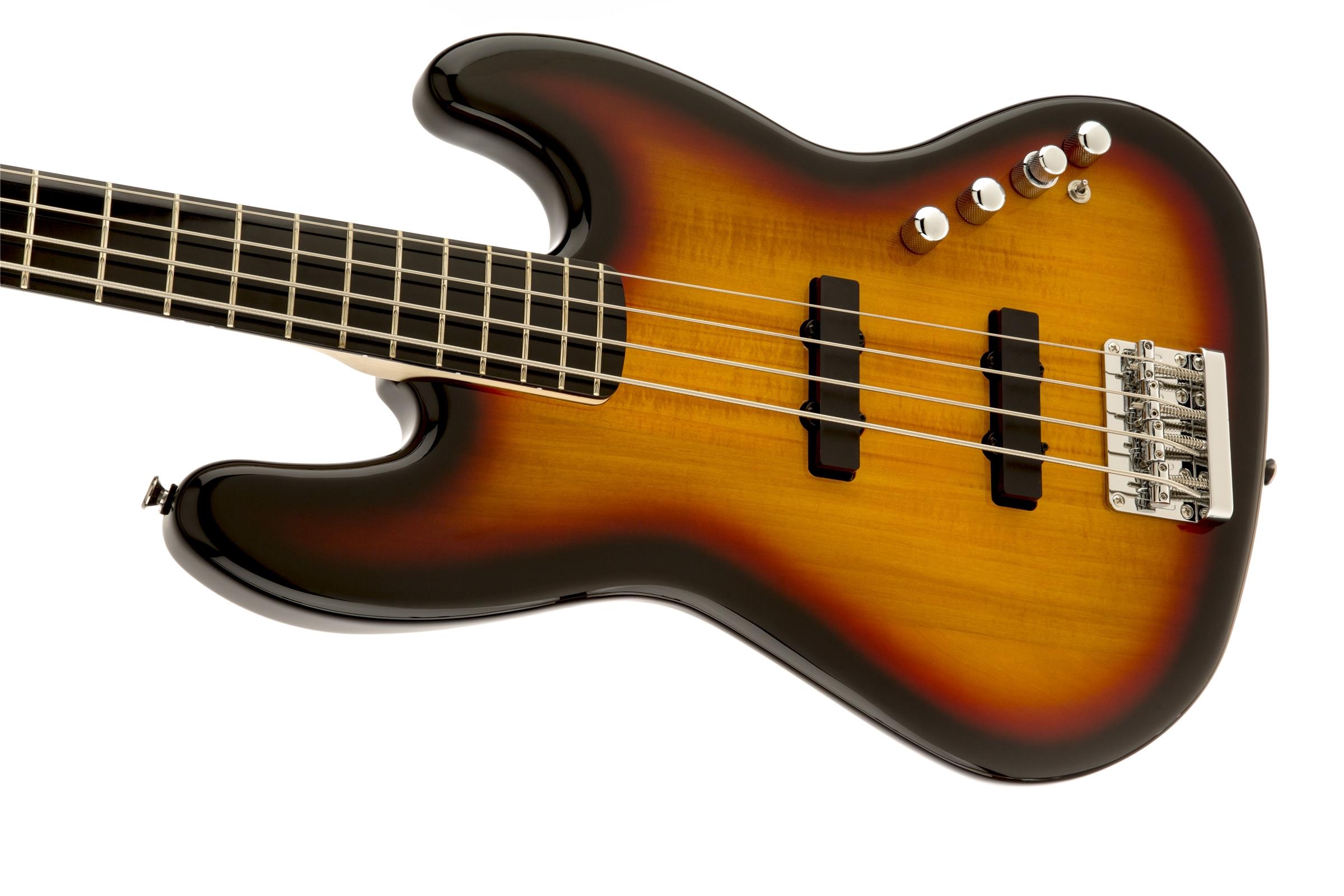 Circuito Jazz Bass Deluxe : Squier deluxe jazz bass iv active string ebonol