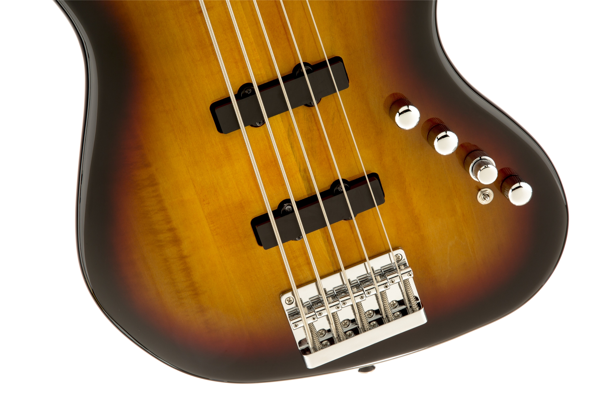 My eb bass squier vintage modified jazz bass - Deluxe Jazz Bass Active V 5 String 3 Color Sunburst