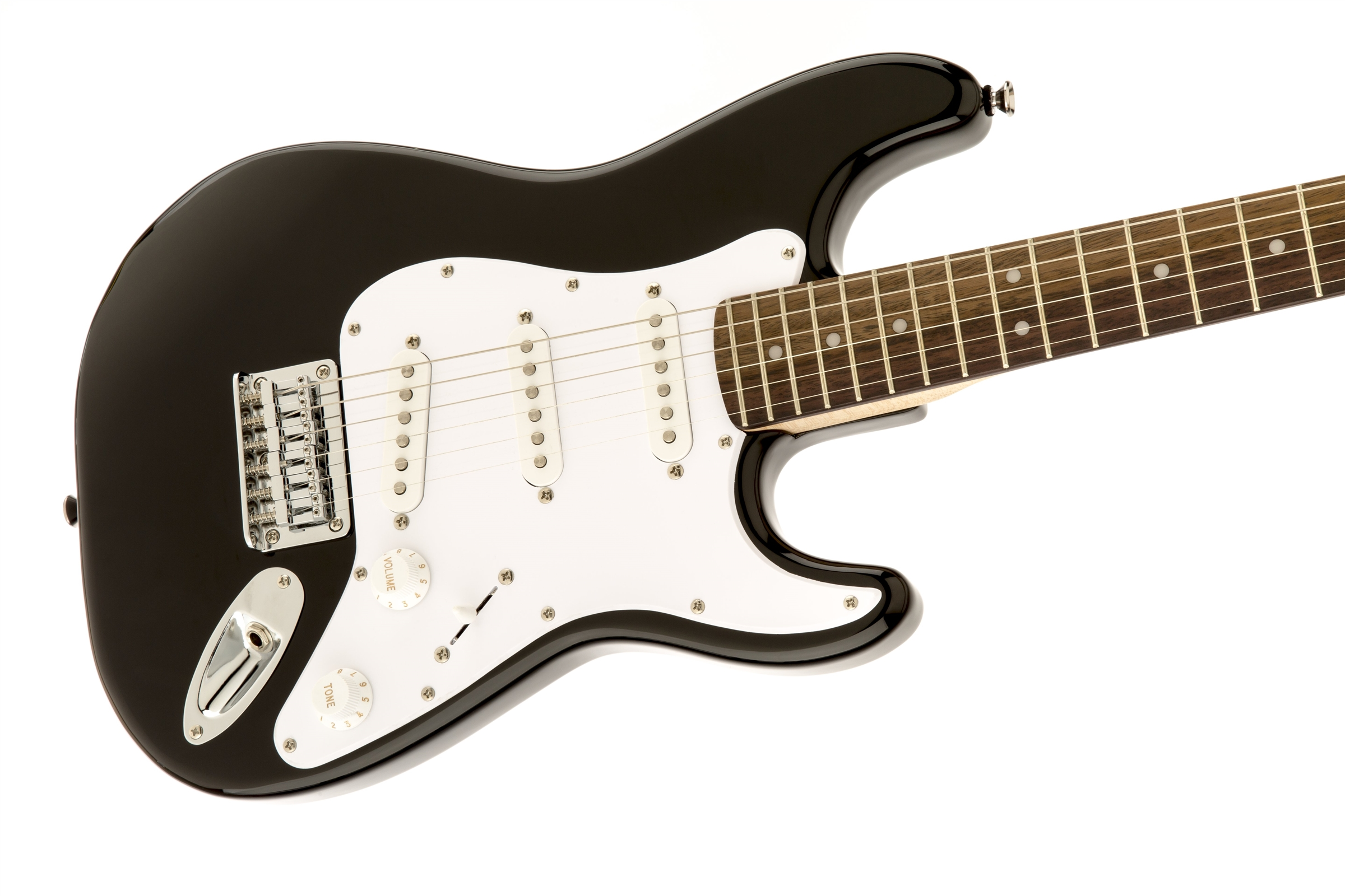 squier mini rosewood fingerboard black squier electric guitars. Black Bedroom Furniture Sets. Home Design Ideas