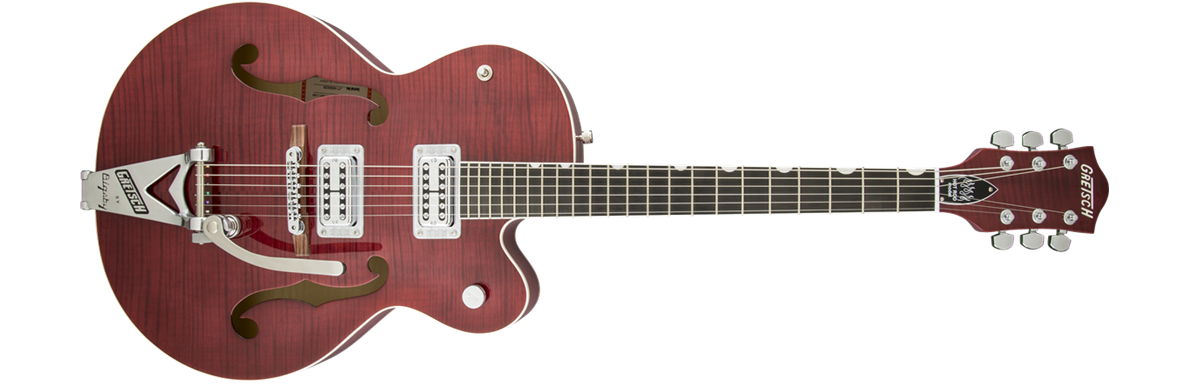 G6120SH-RRED Brian Setzer 2-Tone Hot Rod with Bigsby®, TV Jones® Setzer Pickups, Roman Red