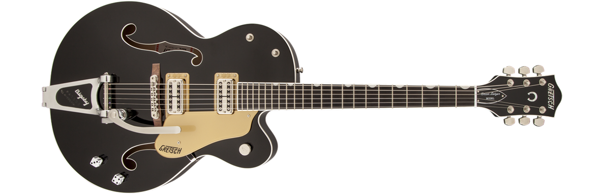 G6120SSU-BK Brian Setzer Nashville® with Bigsby®, TV Jones® Setzer Pickups, Black, Urethane