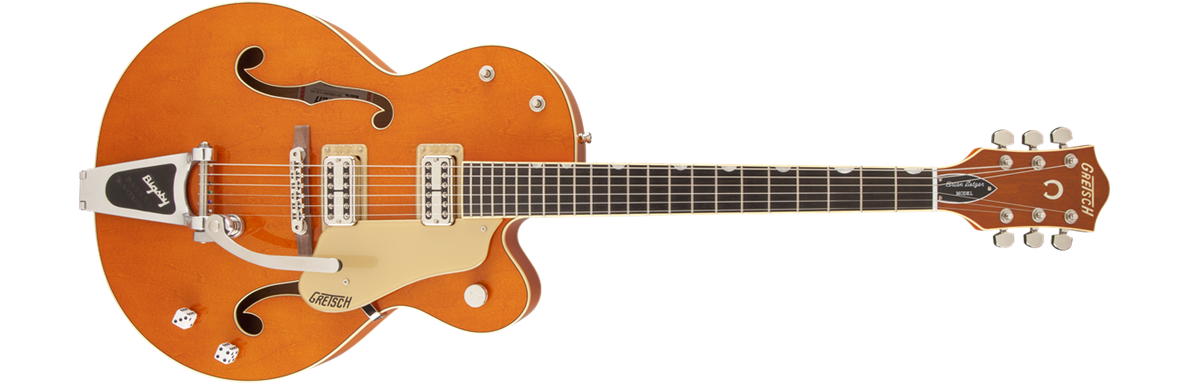G6120SSLVO Brian Setzer Nashville® with Bigsby®, TV Jones® Setzer Pickups, Vintage Orange Stain, Lacquer