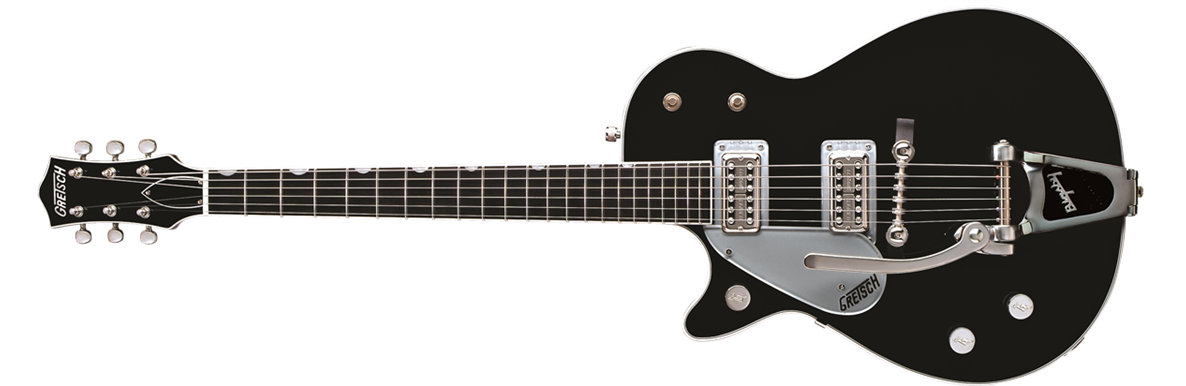 G6128TLH Duo Jet™ with Bigsby®, Left-Handed,  Ebony Fingerboard, Black