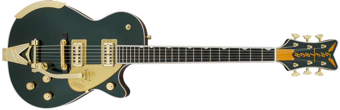 G6134T-CDG Limited Edition Penguin™ with Bigsby®, TV Jones®, Cadillac Green Metallic