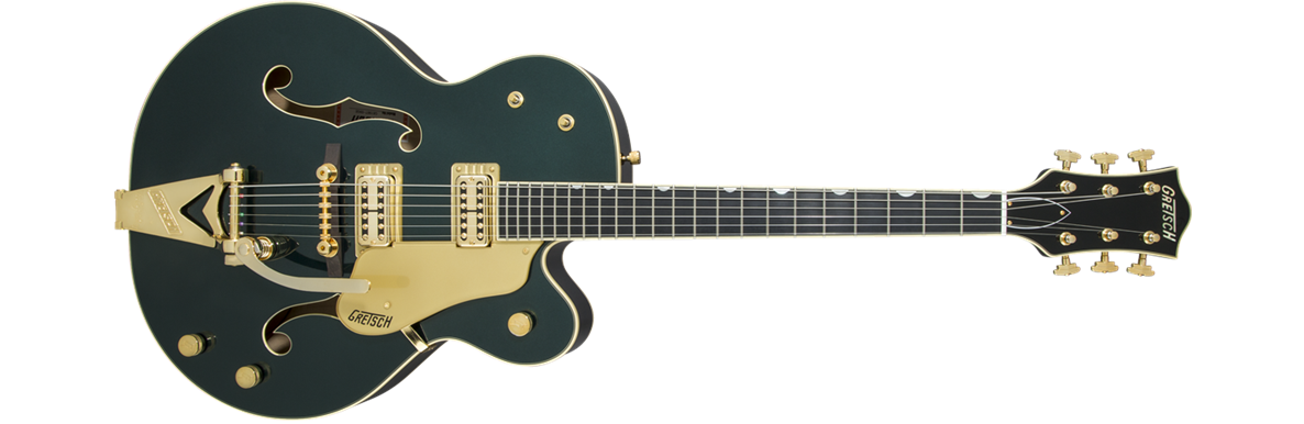 G6196T-59 Vintage Select Edition '59 Country Club™ Hollow Body with Bigsby®, TV Jones®, Cadillac Green Lacquer