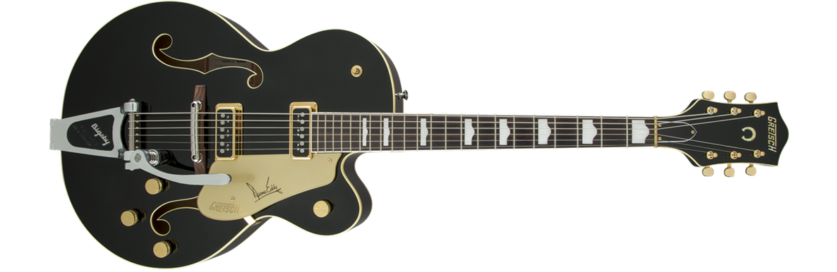 G6120 Duane Eddy Signature Hollow Body with Bigsby®, Rosewood Fingerboard, Black Lacquer