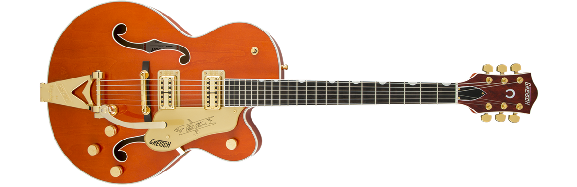 G6120T Players Edition Nashville® with String-Thru Bigsby®, Filter'Tron™ Pickups, Orange Stain