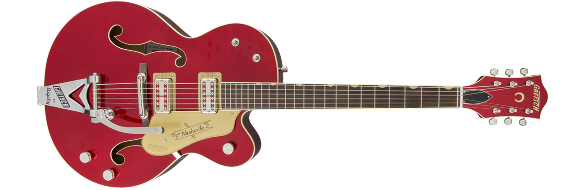 G6120T-59CAR Limited Edition Nashville® with Bigsby®, TV Jones®, Candy Apple Red