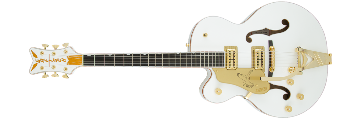 G6136TLH-WHT Players Edition Falcon™ with Bigsby®, Left-Handed, Filter'Tron™ Pickups, White