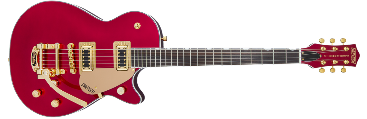 G5435TG Limited Edition Electromatic® Pro Jet™ with Bigsby® and Gold Hardware, Candy Apple Red