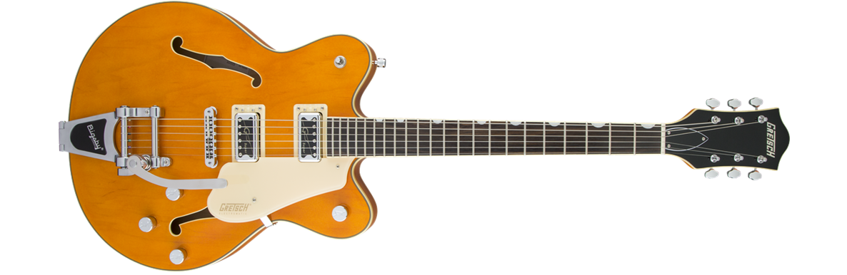 G5622T Electromatic® Center Block Double-Cut with Bigsby®, Rosewood Fingerboard, Vintage Orange