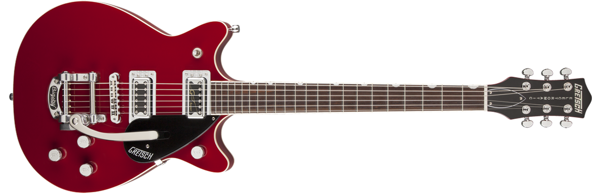 G5655T-CB  Electromatic® Center Block Double Jet with Bigsby®, Rosa Red