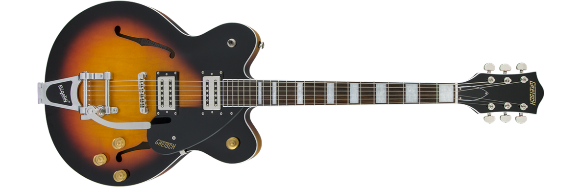 G2622T Streamliner™ Center Block with Bigsby®, Broad'Tron™ Pickups, Aged Brooklyn Burst