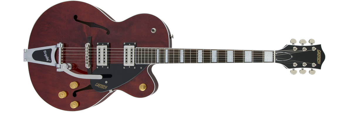 G2420T Streamliner™ Hollow Body with Bigsby®, Broad'Tron™ Pickups, Walnut Stain