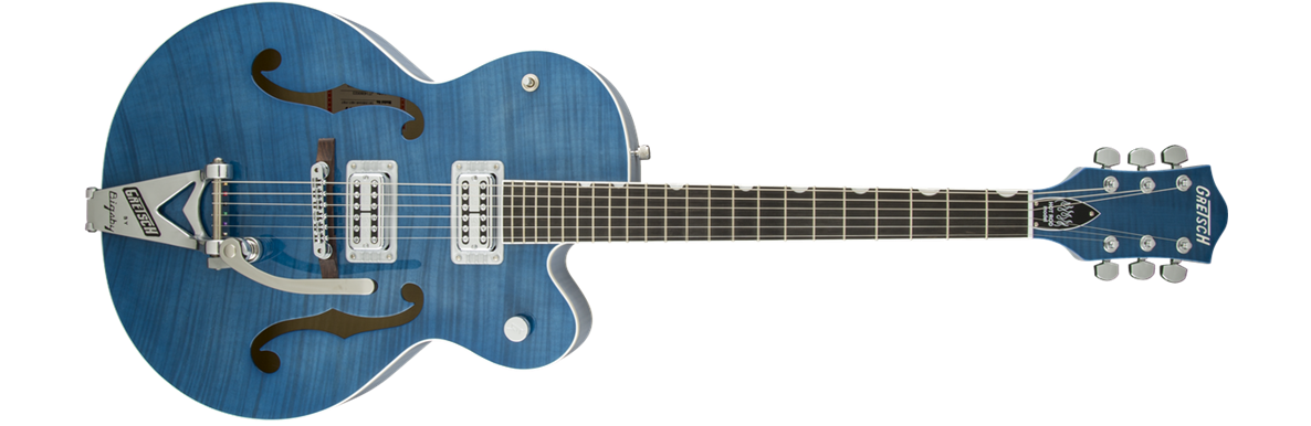 G6120SH-HBLU Brian Setzer 2-Tone Hot Rod with Bigsby®, TV Jones® Setzer Pickups, Harbor Blue