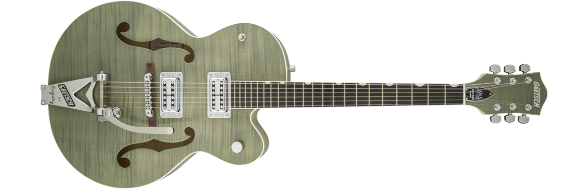 G6120SH-HGRN Brian Setzer 2-Tone Hot Rod with Bigsby®, TV Jones® Setzer Pickups, Highland Green