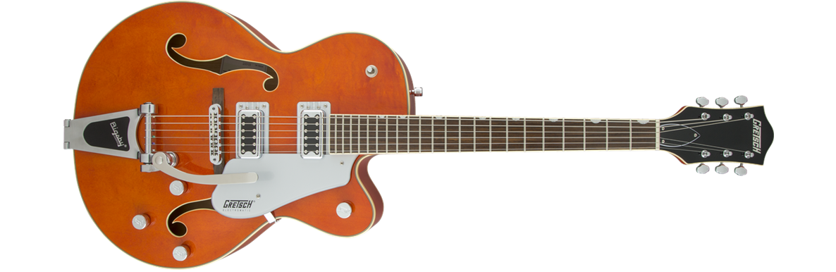 G5420T Electromatic® Hollow Body Single-Cut with Bigsby®, Orange Stain