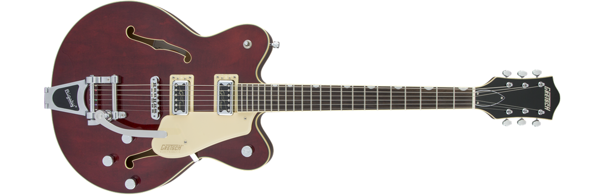 G5622T Electromatic® Center Block Double-Cut with Bigsby®, Rosewood Fingerboard, Walnut