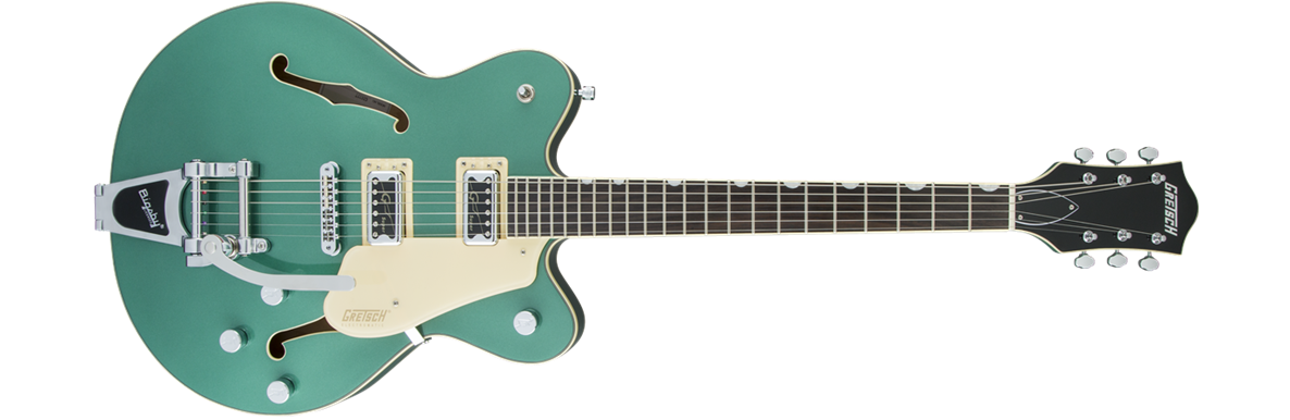G5622T Electromatic® Center Block Double-Cut with Bigsby®, Rosewood Fingerboard, Georgia Green
