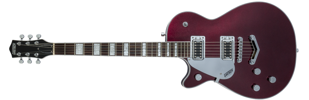 G5220LH Electromatic® Jet™ BT Single-Cut with V-Stoptail, Left-Handed, Black Walnut Fingerboard, Dark Cherry Metallic