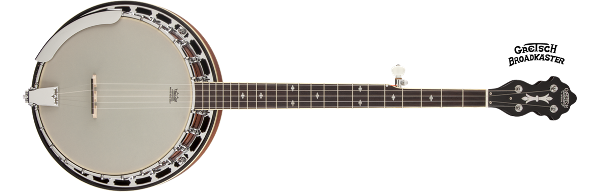"G9410 Broadkaster® ""Special"" 5-String Resonator Banjo, Rolled Brass Tone-Ring"