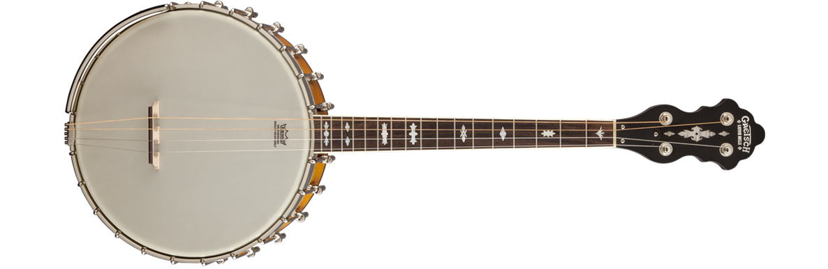 "G9480 ""Laydie Belle"" 17 Fret Irish Tenor Banjo, Whyte-Laydie Tone-Ring"