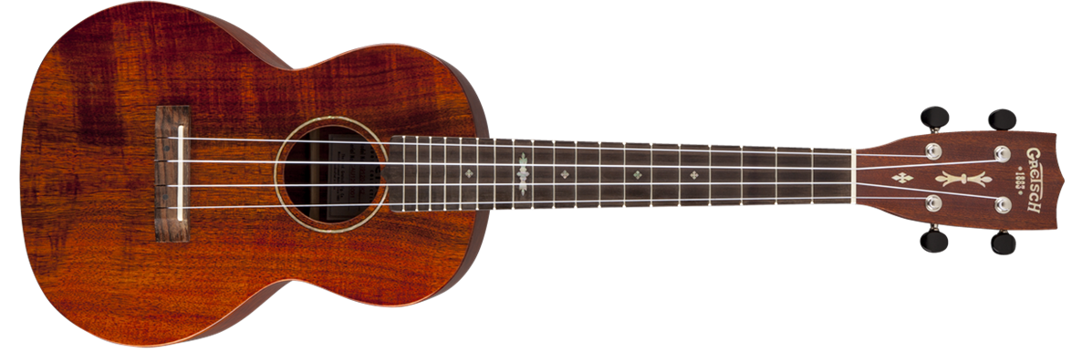 G9120-SK Tenor Koa Ukulele with Gig Bag, Solid Koa, Open Pore, Semi-Gloss Finish