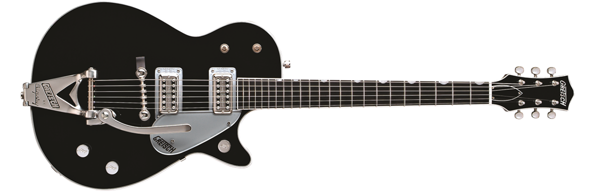 G6128T Duo Jet™ with Bigsby®, Ebony Fingerboard, Black
