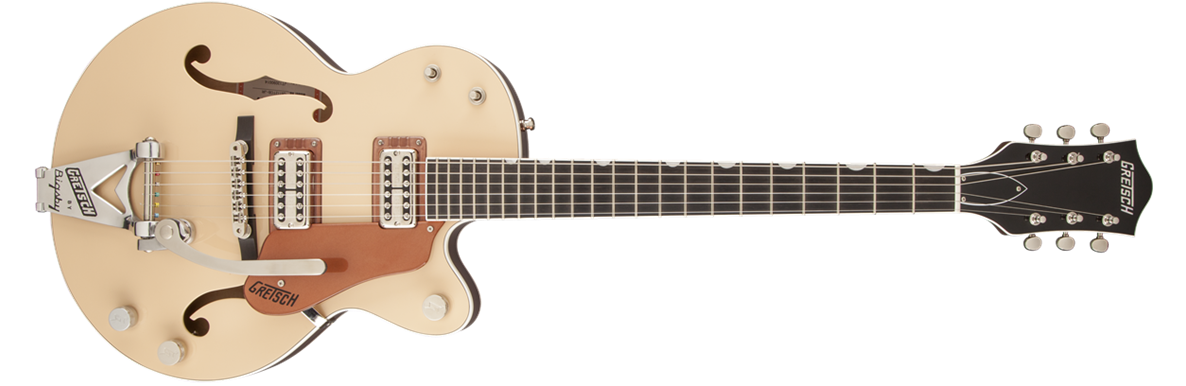 G6112TCB-JR Center Block Jr. with Bigsby®, 2-Tone Jaguar Tan and Copper Metallic