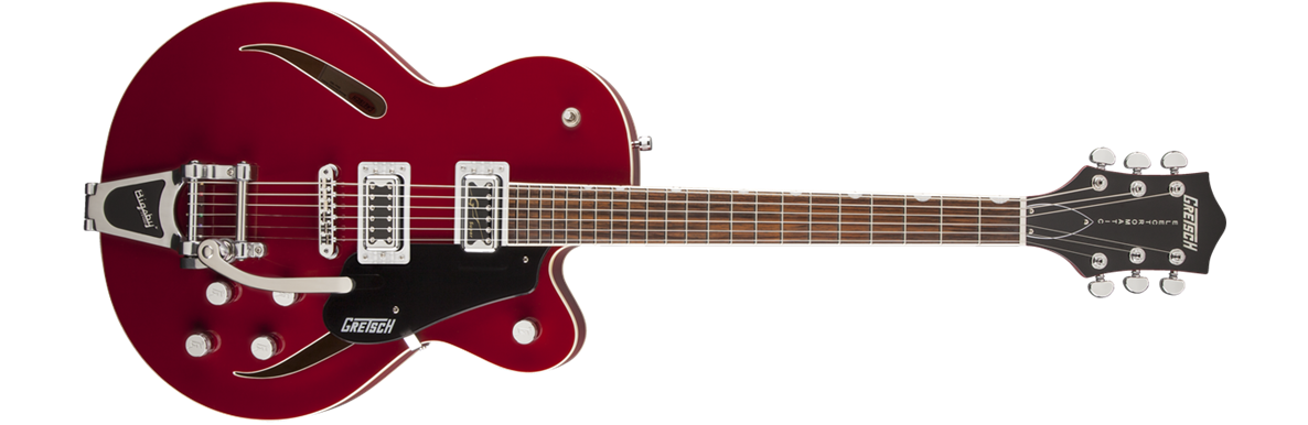 G5620T-CB Electromatic® Center Block with Bigsby®, Single Cutaway, Rosa Red