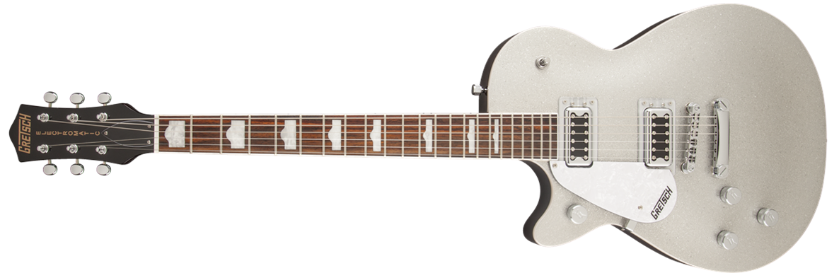 G5439LH Electromatic® Pro Jet™, Left-Handed, Rosewood Fingerboard, Silver Sparkle