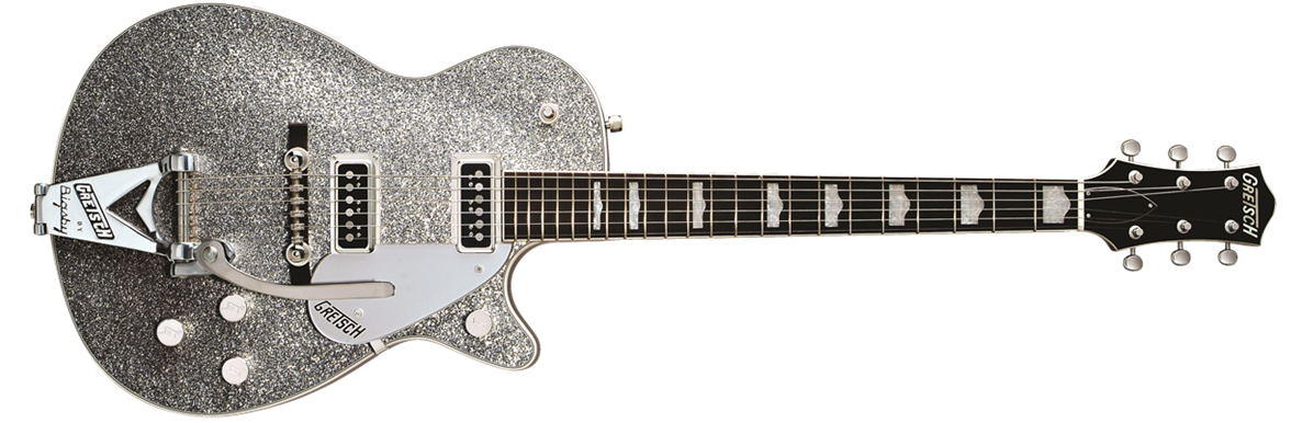 G6129T-1957 Silver Jet™ with Bigsby®, Rosewood Fingerboard, Silver Sparkle