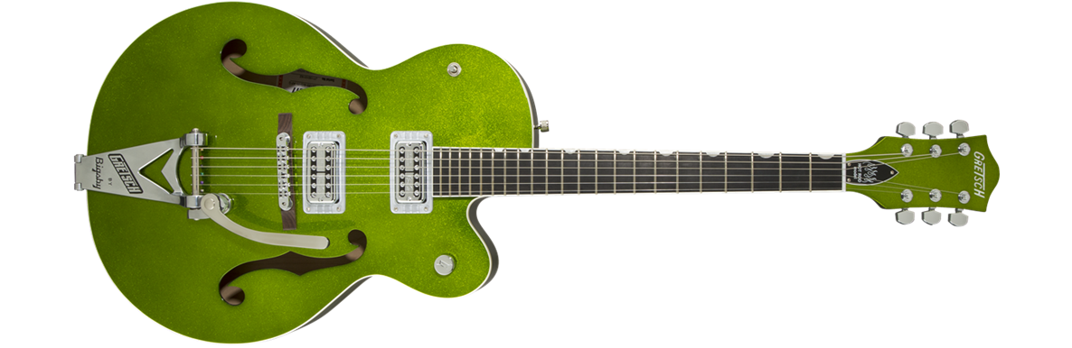 G6120SH-GSPK Brian Setzer Hot Rod with Bigsby®, TV Jones® Setzer Pickups, Green Sparkle