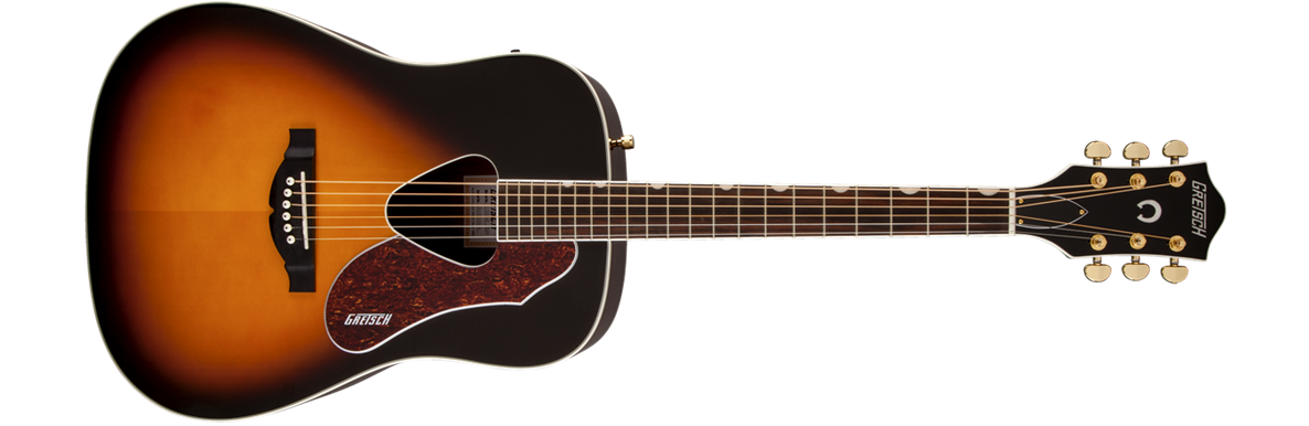 G5024E  Rancher™ Dreadnought Electric, Fishman® Pickup System, Sunburst
