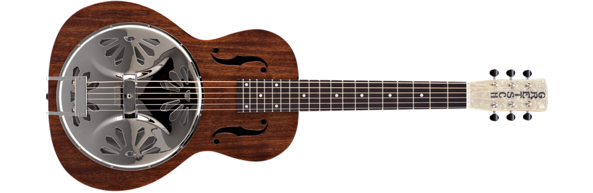 G9210 Boxcar™ Square-Neck, Mahogany Body Resonator Guitar, Natural