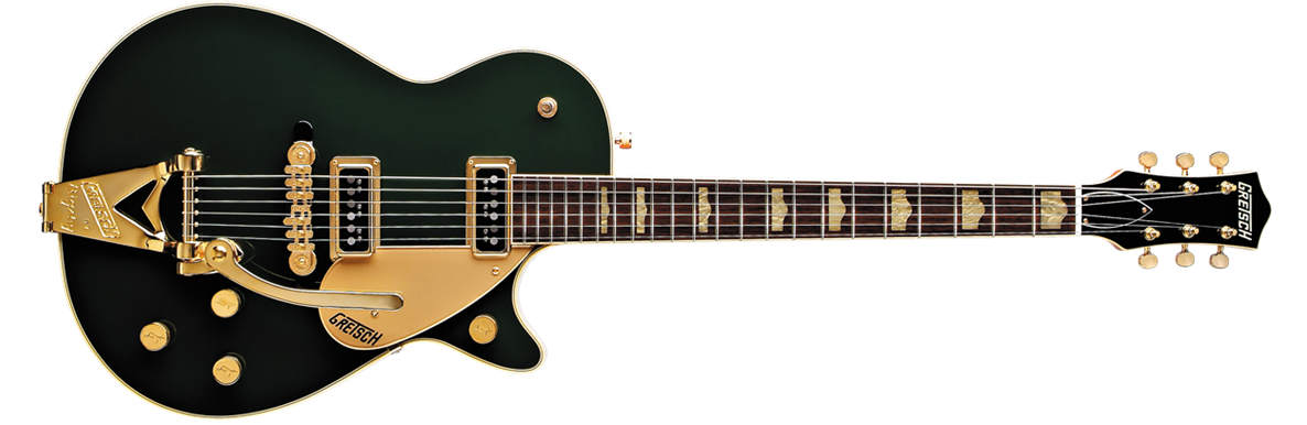 G6128TCG Duo Jet™ with Bigsby®, Rosewood Fingerboard, Gold Hardware, Cadillac Green