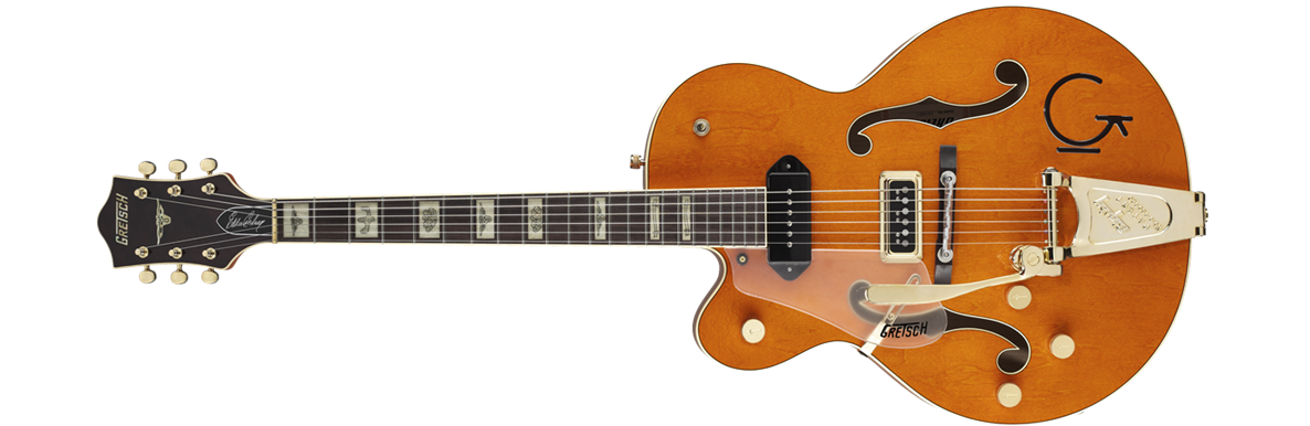 G6120LH Eddie Cochran Signature Hollow Body with Bigsby®, Left-Handed, Rosewood Fingerboard, Western Maple Stain