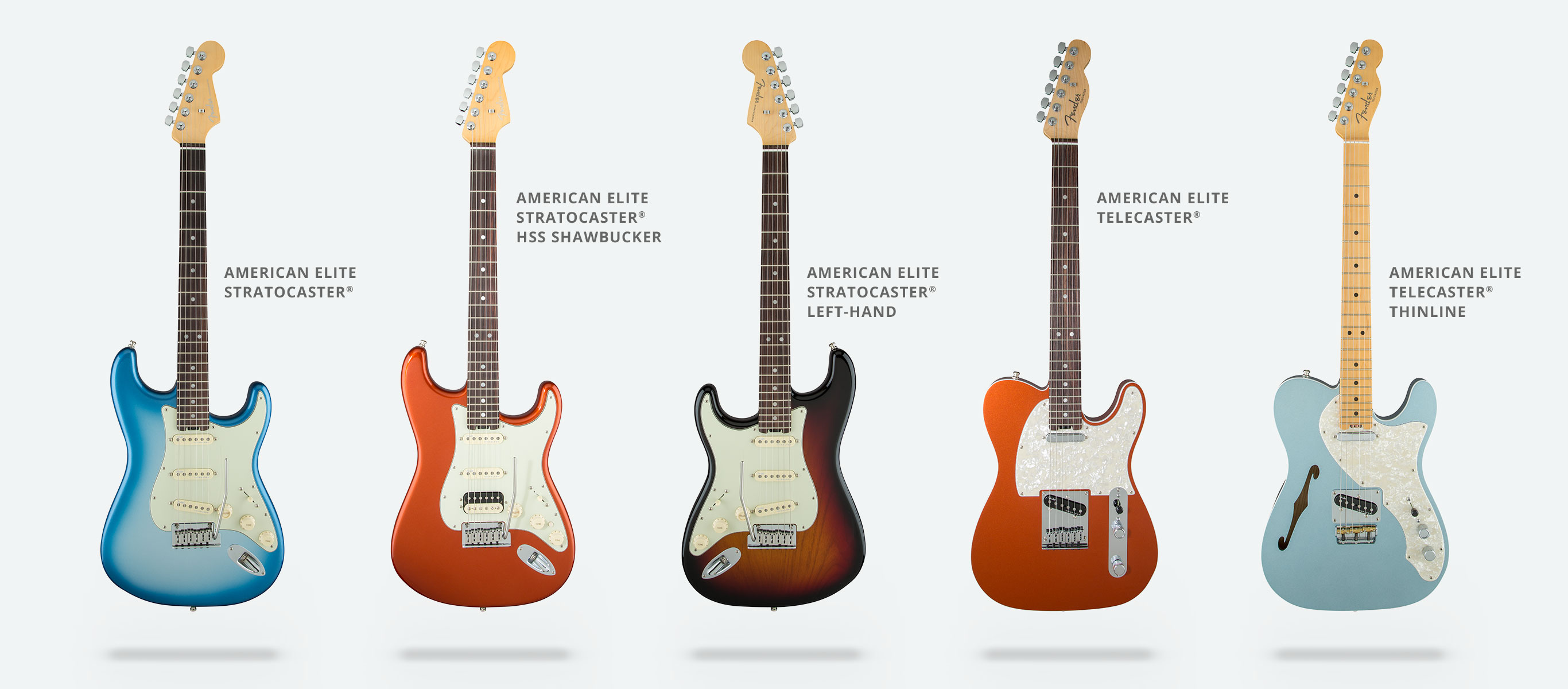 fender american elite series