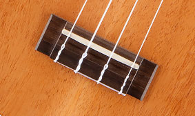 ROSEWOOD BRIDGE AND FINGERBOARD