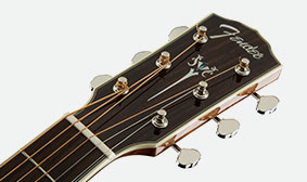 DISTINCTIVE FENDER HEADSTOCK SHAPE